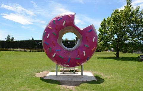 donut géant