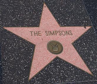 étoile Hollywood Simpson