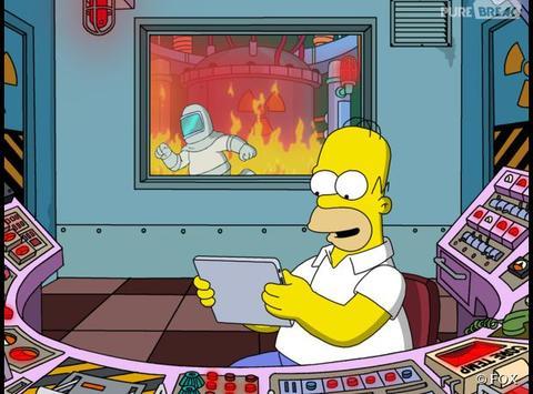homer centrale nucléaire