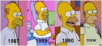 homer vieillit