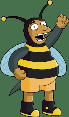 Homme-abeille