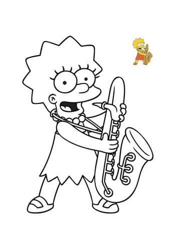 lisa saxophone