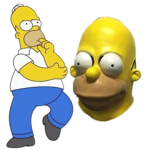 masque simpson