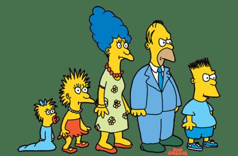 origine famille simpson