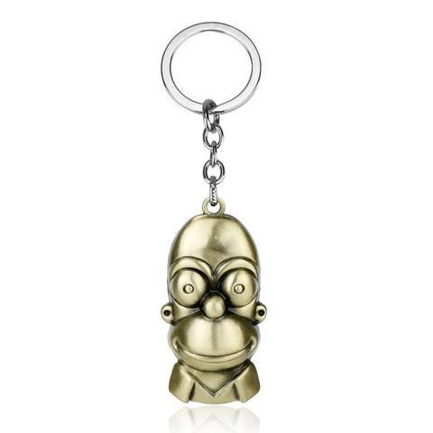 porte clé métallisé