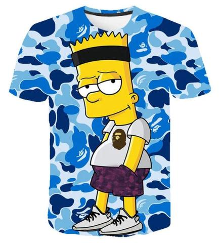 T-shirt Bart J Simpson