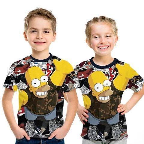 t-shirt enfant homer