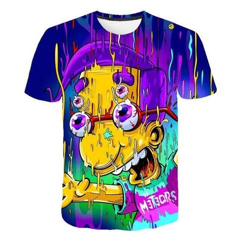 T-shirt Simpson Milhouse Van Houten