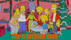 Top 5 des meilleures épisodes de Noël des Simpson