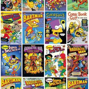 Poster Les Simpson Toutes les séries Simpson