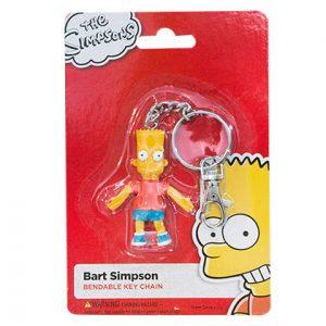Porte-clé Simpson avec la figurine Bart Simpson