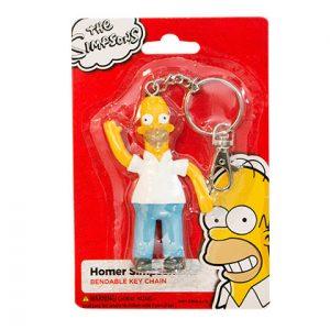 Porte-clé Simpson avec la figurine Homer Simpson