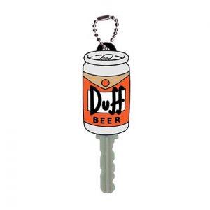 Porte-clé Les Simpson avec la bière Duff