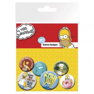 Badge Les Simpson 238667