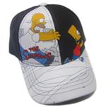Casquette Homer Simpson poursuit Bart Simpson