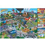 Poster Les Simpson Ville des Simpson