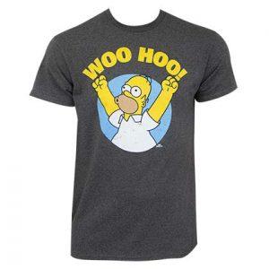 T-shirt Les Simpson Homer qui fait Woo-Hoo !