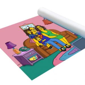 Poster Les simpson papa superman et sa famille